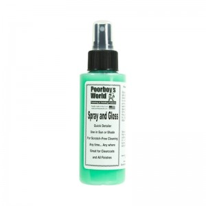 Poorboy's World Spray and Gloss 118 ml