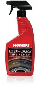 Mothers Back-to-Black Tire Renew Cleaner 710ml