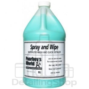 Poorboys World Spray & Wipe 3785 ml